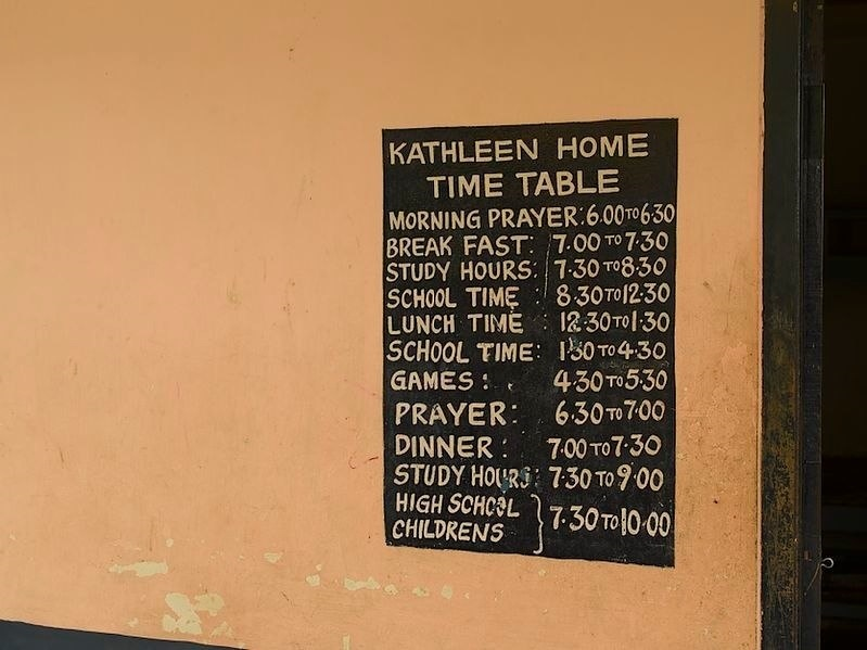 Kathleenhome Timetable